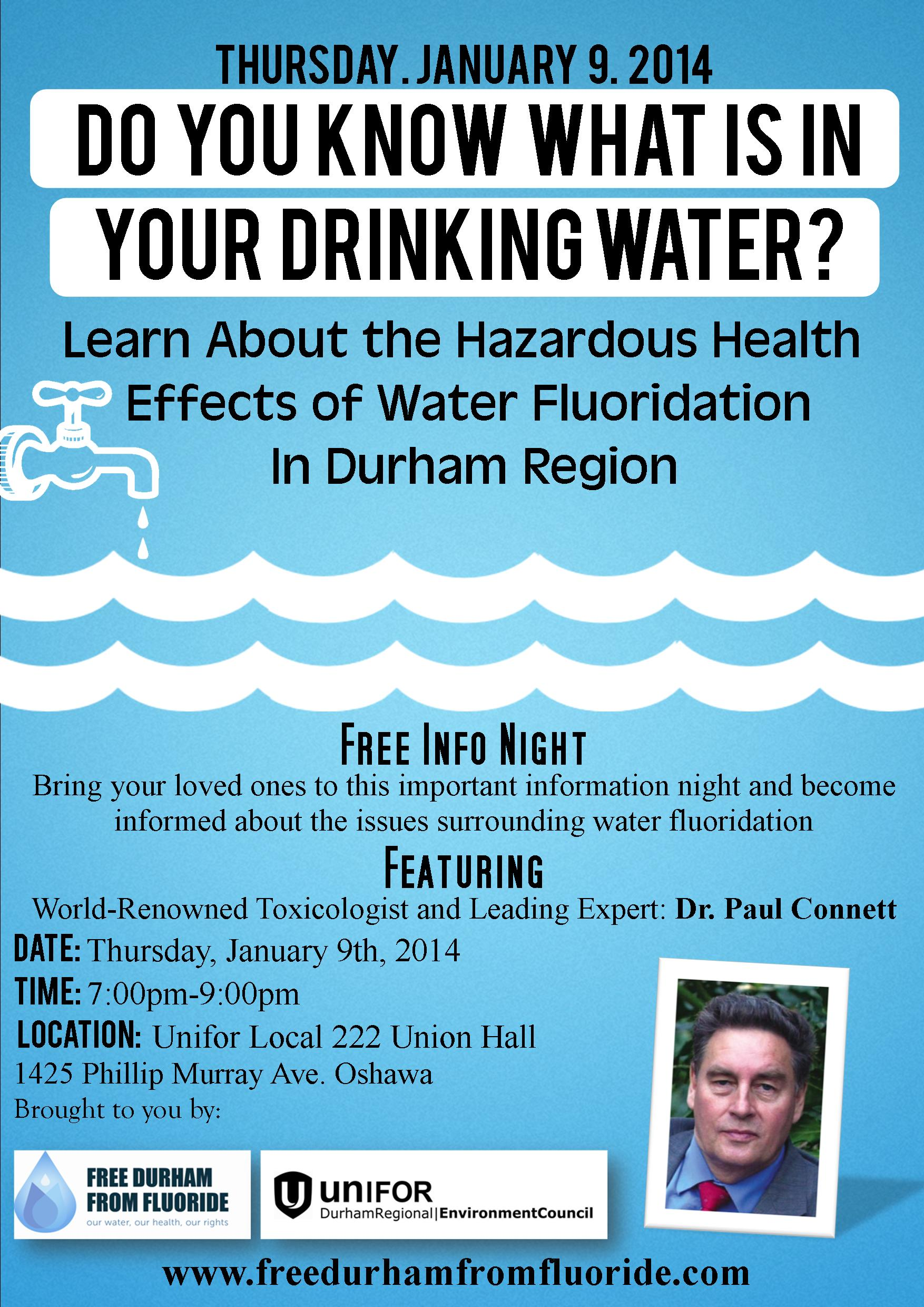 fluoridation of your drinking water Water fluoridation is the controlled addition of fluoride to a public water supply to reduce tooth  drinking water is typically the largest source of fluoride .